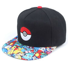d6d932daa5a Women Men Boy Snapback Pikachu Go Pokeball Pokemon baseball Golf Sports Hat  Cap