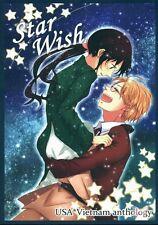 Hetalia Axis Powers Doujinshi Dojinshi Comic USA Alfred x Vietnam Star Wish