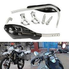"""Black 7/8"""" Motorcycle Hand Guards For Kawasaki KL KLR 250 Super Sherpa 600 650"""