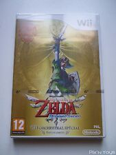 Nintendo Wii / Zelda Skyward Sword Edition Limitée [ Neuf sous Blister ]