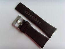 DIESEL Original Ersatzband Lederarmband DZ1204 Uhrband braun 32 mm