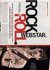 SP1 Clipping-Ritaglio 2006 Alex Turner Rock & Roll Webstar