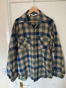 woolrich wool shirt