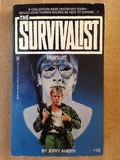 Jerry Ahern SURVIVALIST #13 Pursuit 1st 1986 John Rourke Great Cover Art!!!