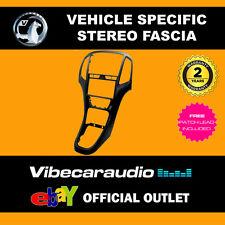 VAUXHALL ASTRA J 2010 - 2015 DOPPIO DIN Fascia Adattatore PEARL BLACK CT23VX27