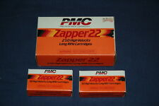 Zapper Pmc .22 Caliber Rf Empty Ammo Boxes 50Rd and 250 Rd