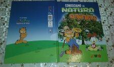 album completo figurine/stickers figurine CONOSCIAMO LA NATURA CON GARFIELD