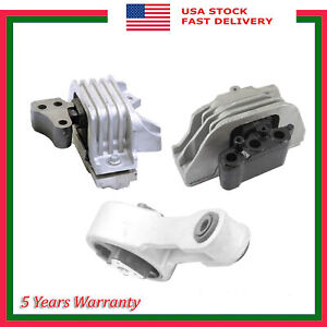 Front Right Rear Engine Motor & Auto Trans Mount New For Dodge Journey 2.4L