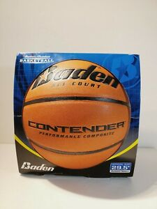 "Baden Perfection Elite Men's Indoor Outdoor 29.5"" Official Size Game Basketball"