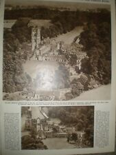 Photo article and aerial views Fountains Abbey 1946 ref Ap