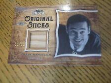 2016 Leaf Lumber Kings Original Sticks #OS 08 Frank Mahovlich Canadiens Leafs 12