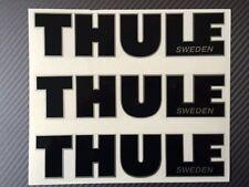 Thule-Aufkleber, Aufkleber, Thule Emblem für die Reparatur schwarz