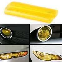 High Quality Yellow Headlight Tail light Fog Light Film Tint Roll Car Wrap Uk
