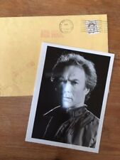Clint Eastwood - Hand signed autographed photo and envelope