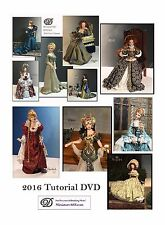 1:12 VISUAL DOLL MAKING MADE EASY- CD - MINIATURE DOLL TUTORIAL BY DANA - 2016