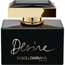 D & G THE ONE DESIRE INTENSE Dolce & Gabbana Perfume 2.5 oz edp NEW tester WITH