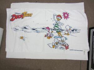"Vintage 1986 Walt Disney's DUCK TALES Beach Towel 29"" x 52"""