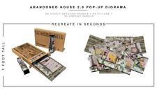 Extreme sets ABANDONED HOUSE 2.0 POP-UP DIORAMA for 6 inch action figures NEW!