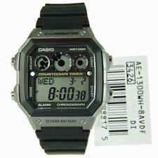 NEW! Casio AE-1300WH-8AV Silver Illuminator Chronograph Digital Watch