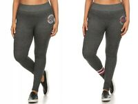 Women's Plus Size High Waist Leggings Long Stretchy Pants Full Length Yoga 2X 3X