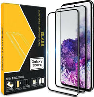 2x 3D Samsung Galaxy S20 FE Schutzglas Displayfolie Full Screen Panzerfolie 9H