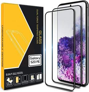 2x 3D Samsung Galaxy S20 FE Schutzglas Displayfolie Full Screen Panzerfolie 9H