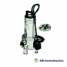 Elettropompa Pompa Sommersa Lowara DOMO 10VX/B 1 HP Per Acque Sporche
