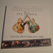 STATUS QUO - LIVE IN SWITZERLAND 2009 - 2LPs LTD. EDITION COLOR VINYL  NEW