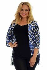 Viscose 3/4 Sleeve Machine Washable Floral Tops for Women