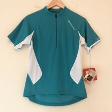 Bellwether Womens Medium Short Sleeve Cycling Jersey Bicycle Top Green NEW 893