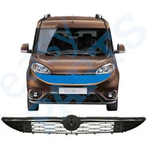 Fiat Doblo 2015- Vorne Kühlergrill Grill Schwarz / Chrom
