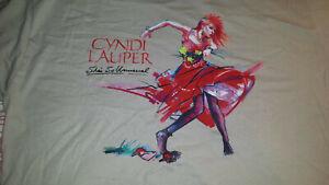 CYNDI LAUPER She's So Unusual 30th Anniversary Celebration 2014 T-Shirt XL Gray