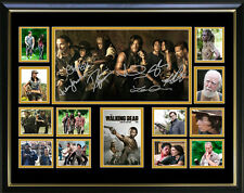 The Walking Dead Limited Edition Signed Framed Memorabilia