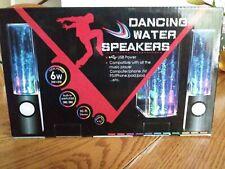 Dancing Water Speakers 6w USB Power Black. B22