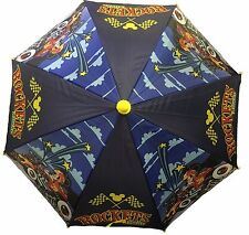 "Licensed Disney Mickey Mouse Rockets & Friends 21"" Umbrella w/Figure Handle"