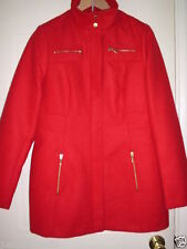 George Popper Polyester No Pattern Coats & Jackets for Women