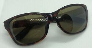 Maui Jim MJ435 Road Trip Polarised Full Rim Square Tortoise Shell Sunglasses