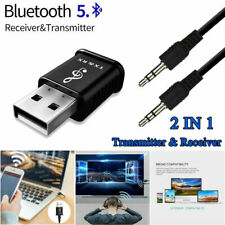 Audio Bluetooth5.0  Transmitter Receiver USB Adapter for TV PC Car AUX Speaker
