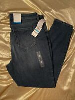 NWT Style & Co Denim Mid-Rise Curvy Fit Skinny Leg Tummy Control Pants Size 16
