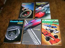 5 x Guardian Formula One season guides: 2007-2011   Good condition   330 pages