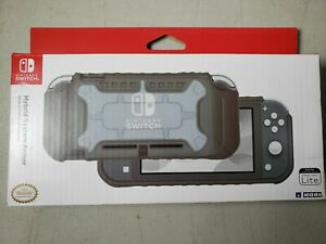 Nintendo Switch Lite Hybrid System Armor Protective Case Cover Gray Grey