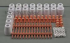 PT-31 LG-40 Plasma Electrode Tip Nozzle Extended CUT50D Plasma Cutting kit 100pc