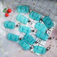 2019 Kpop Producex101 X1 Glitter Acrylic Keychain YOHAN JUNHO Pendant Keyring