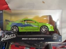 JADA FAST AND FURIOUS 1/32 BRIAN'S MITSUBISHI ECLIPSE NEW BOXED