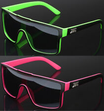 DG Eyewear Oversized Square Men's Women's Flat Top Sunglasses Shield Style Lens