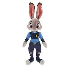 "NWT Disney Store ZOOTOPIA OFFICER JUDY HOPPS PLUSH 15"" H Toy Doll"