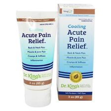 King Bio Cooling Acute Pain Relief Homeopathic Cream, 3 Ounces