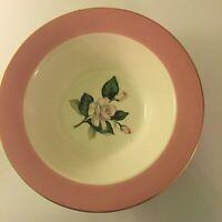 Vintage Homer Laughlin Glenwood Pink International D. S. Co. Serving Dish