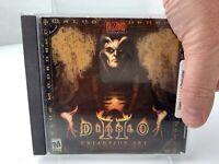 Diablo II Expansion Set Lord of Destruction PC Video Game 95/98/2000/ME/NT Mac