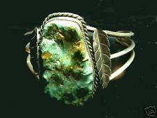 OLD TURQUOISE BRACELET  (one GIANT stone)